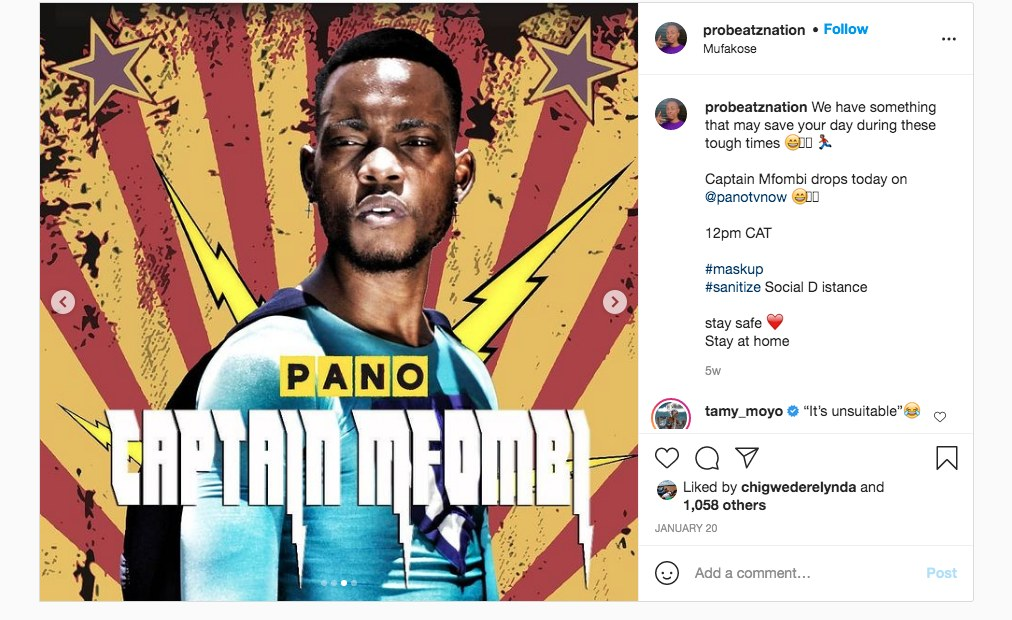 Zimbabwe's First Superhero Conquers Social Media