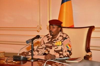 Président du Conseil Militaire de transition, Général des Corps d'Armées, MAHAMAT IDRISS DEBY