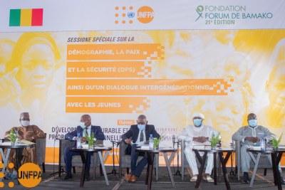Session spéciale sur la démographie, la paix et la sécurité (Dps) organisée le mercredi 19 mai 2021 à Bamako