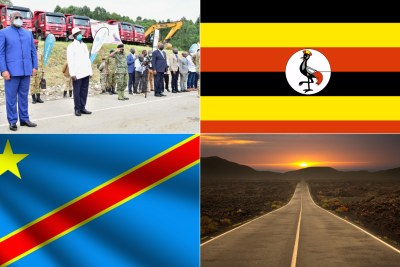 All systems go as Uganda, DR Congo sign agreement on road projects.