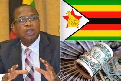 Zimbabwe Finance Minister Mthuli Ncube (file photo).