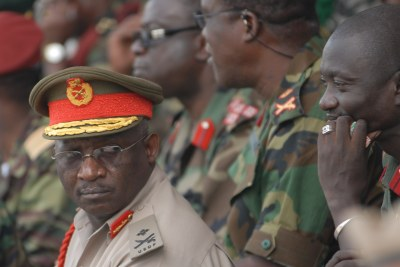 eSwatini army officers (file photo).