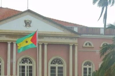 Palais présidentiel de Sao Tomé-et-Principe.