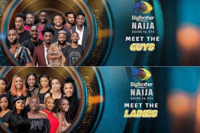 Big Brother Naija contestants for the sixth season.