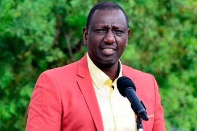 Deputy President William Ruto (file photo).