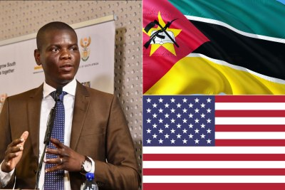 South African Minister of Justice and Correctional Services Ronald Lamola.
