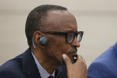 President of Rwanda Paul Kagame (file photo).