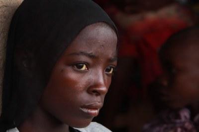 Des Burundais rapatriés de Tanzanie dans le centre de transit de Mabanda, dans la province de Makamba, au Burundi - 24 avril 2018